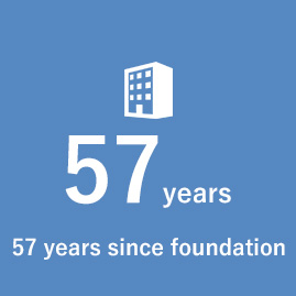 57 years since foundation